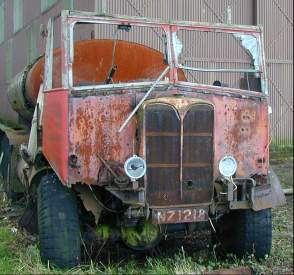 An old lorry