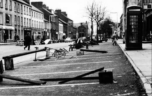 Main Street after the bomb