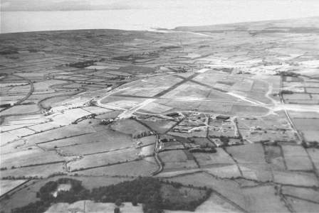 The old airfield
