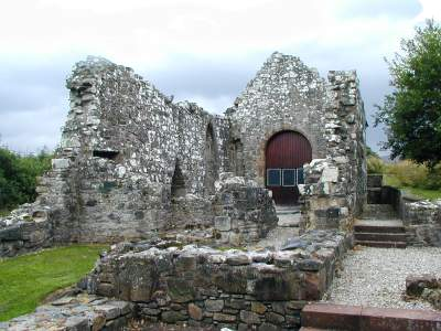 The ruins of the priory