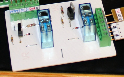 Dual DC motor control using pwm with the Raspberry Pi
