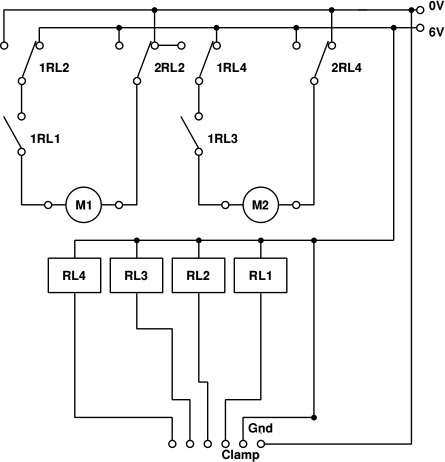 A dual motor controller for the raspberry pi for Relay motor control circuit