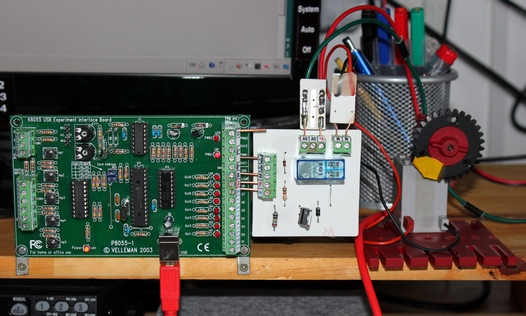 Single Motor Pwm Control For The Vellman K8055 And K8061