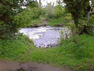 The ford near the upper car park