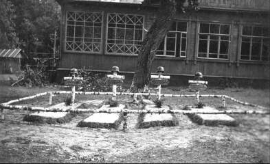 Four war graves